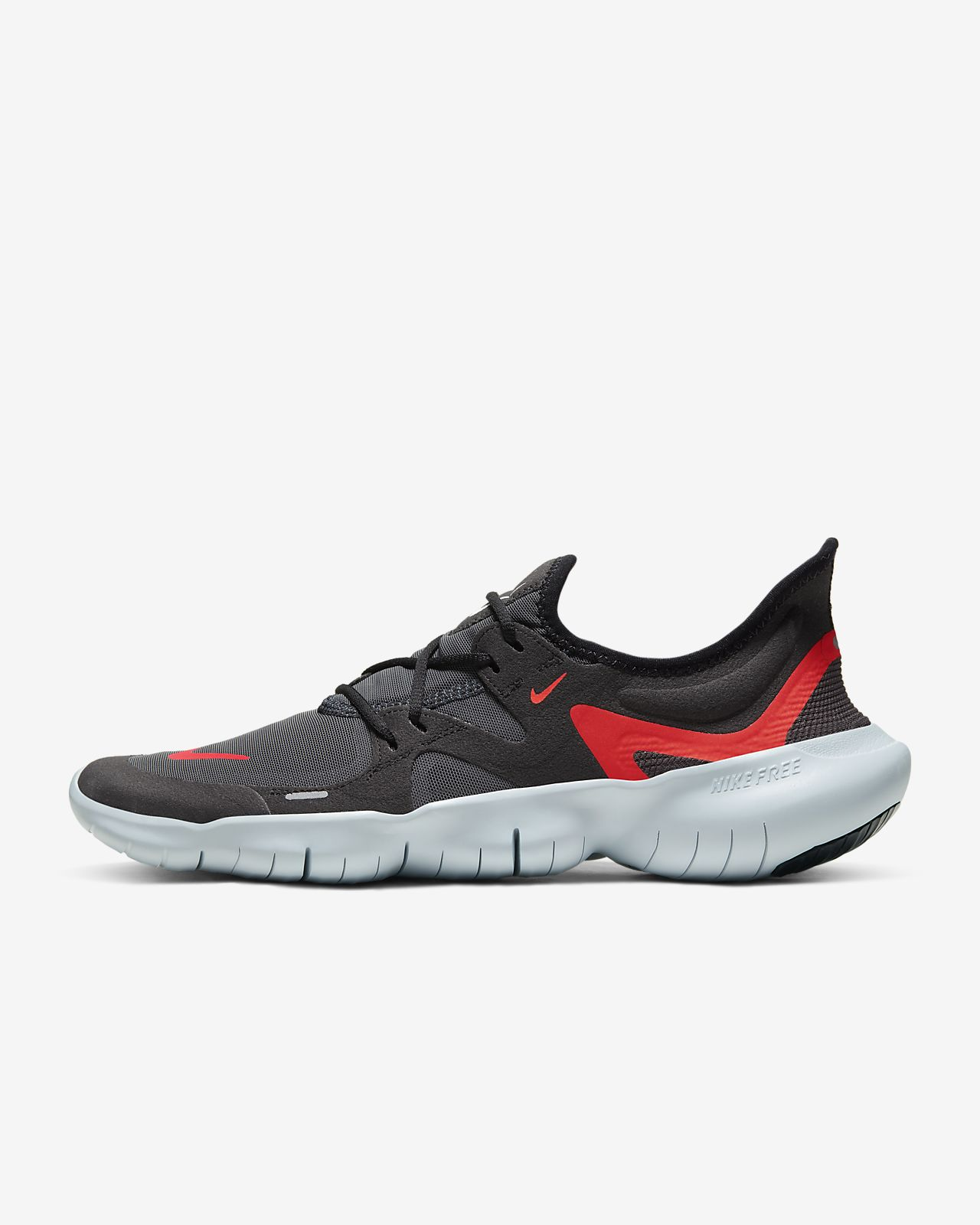 Nike Training Flex Trainers In Black Upper: 50% Other