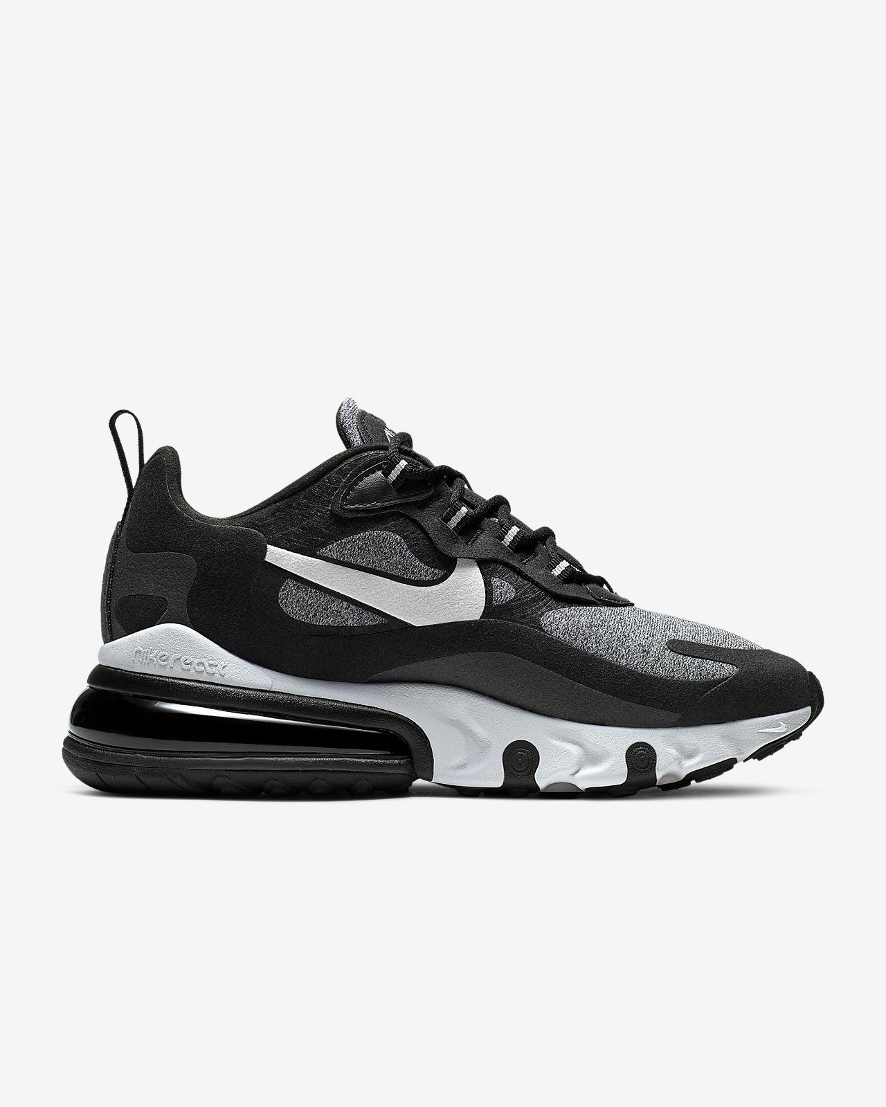 Nike Air Max 270 React sko til kvinder (Optical)