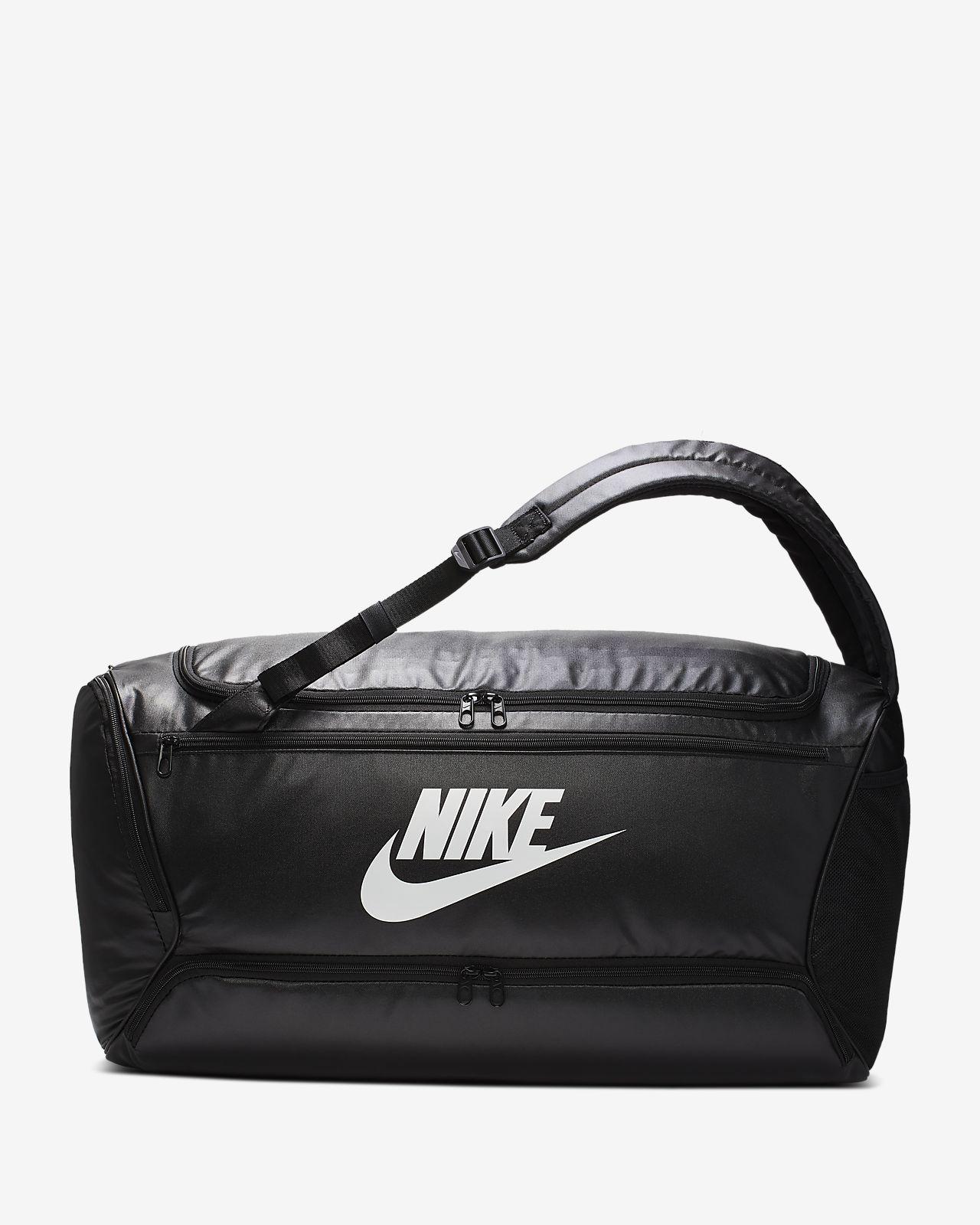 Nike Brasilia konvertibel duffelbag/ryggsekk til trening