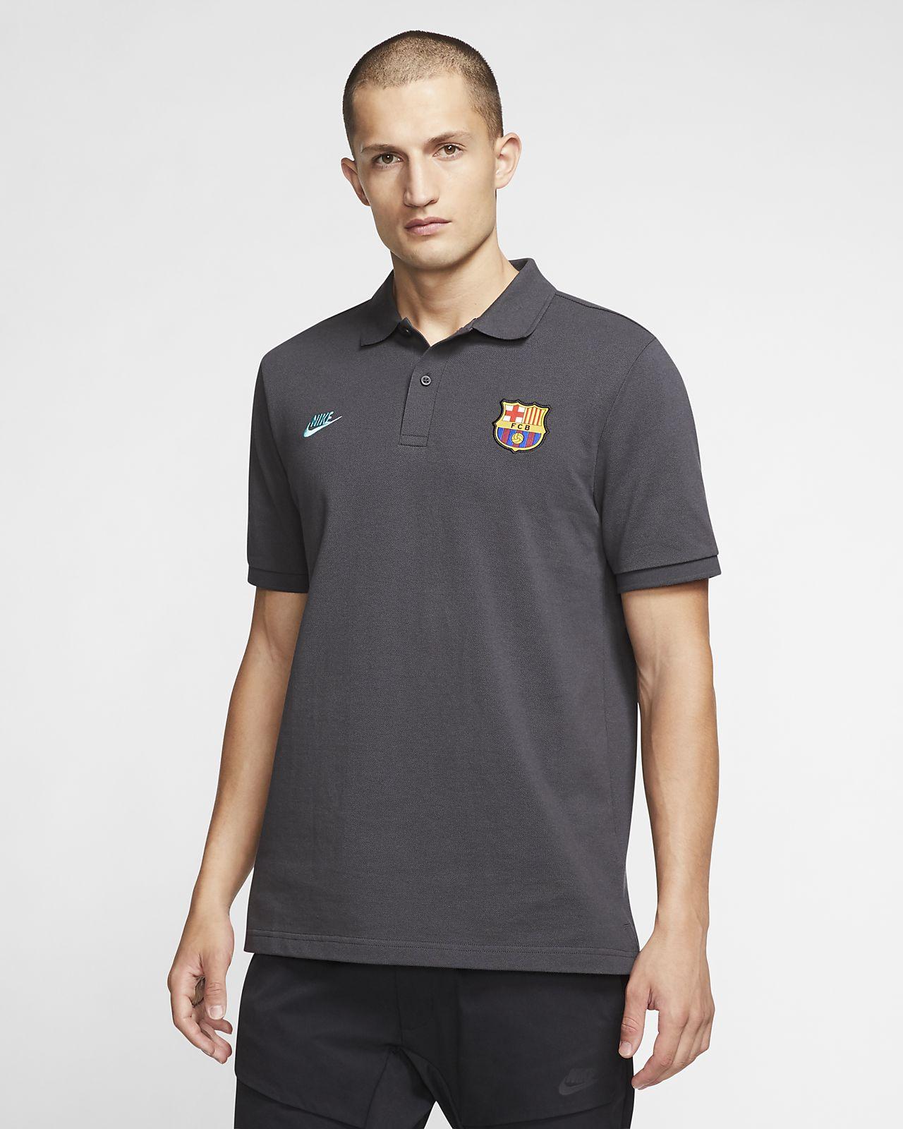 Viaje frecuencia aguja  FC Barcelona Men's Polo. Nike CH