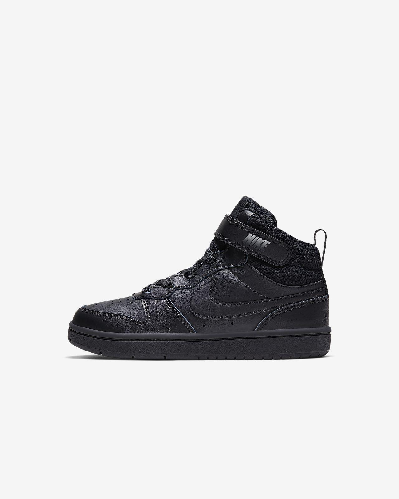 Nike Court Borough Mid 2-sko til små børn