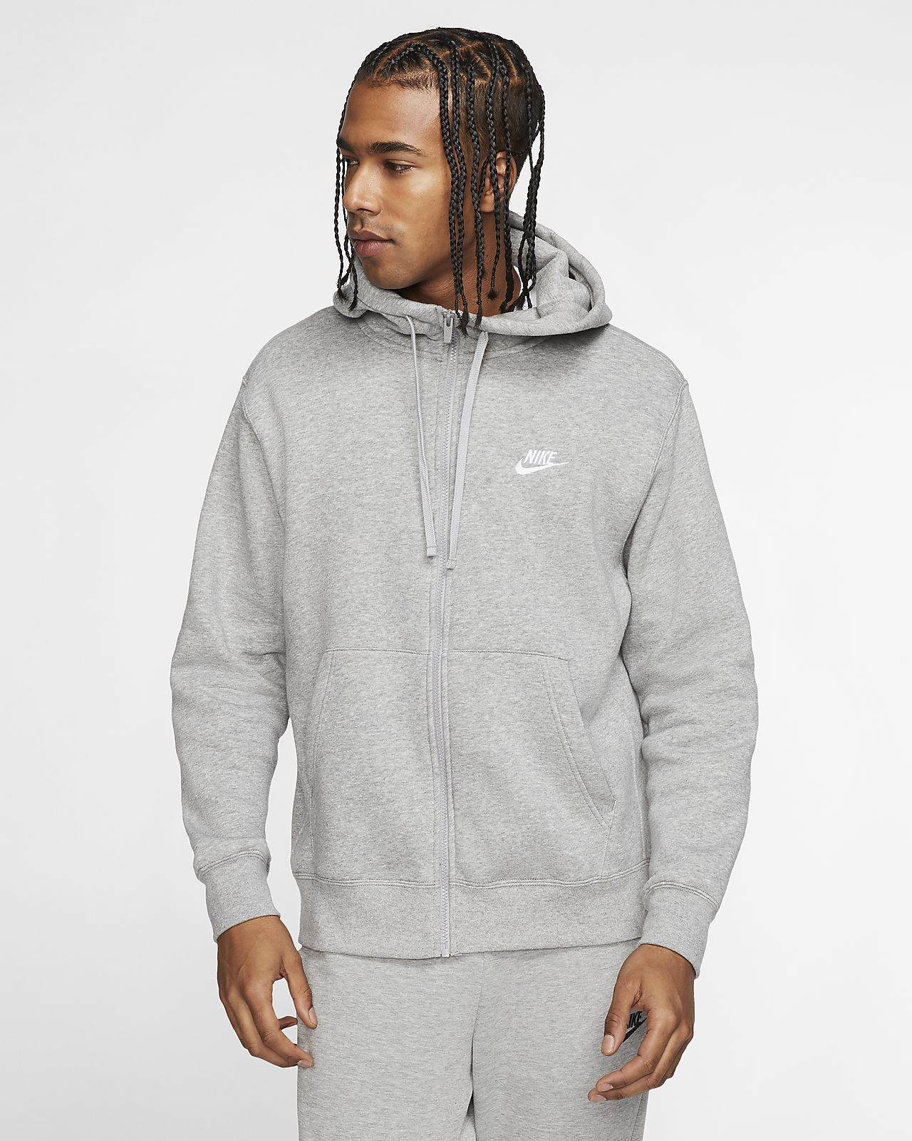 NIKE Men's Fleece Club Pullover Hoodie