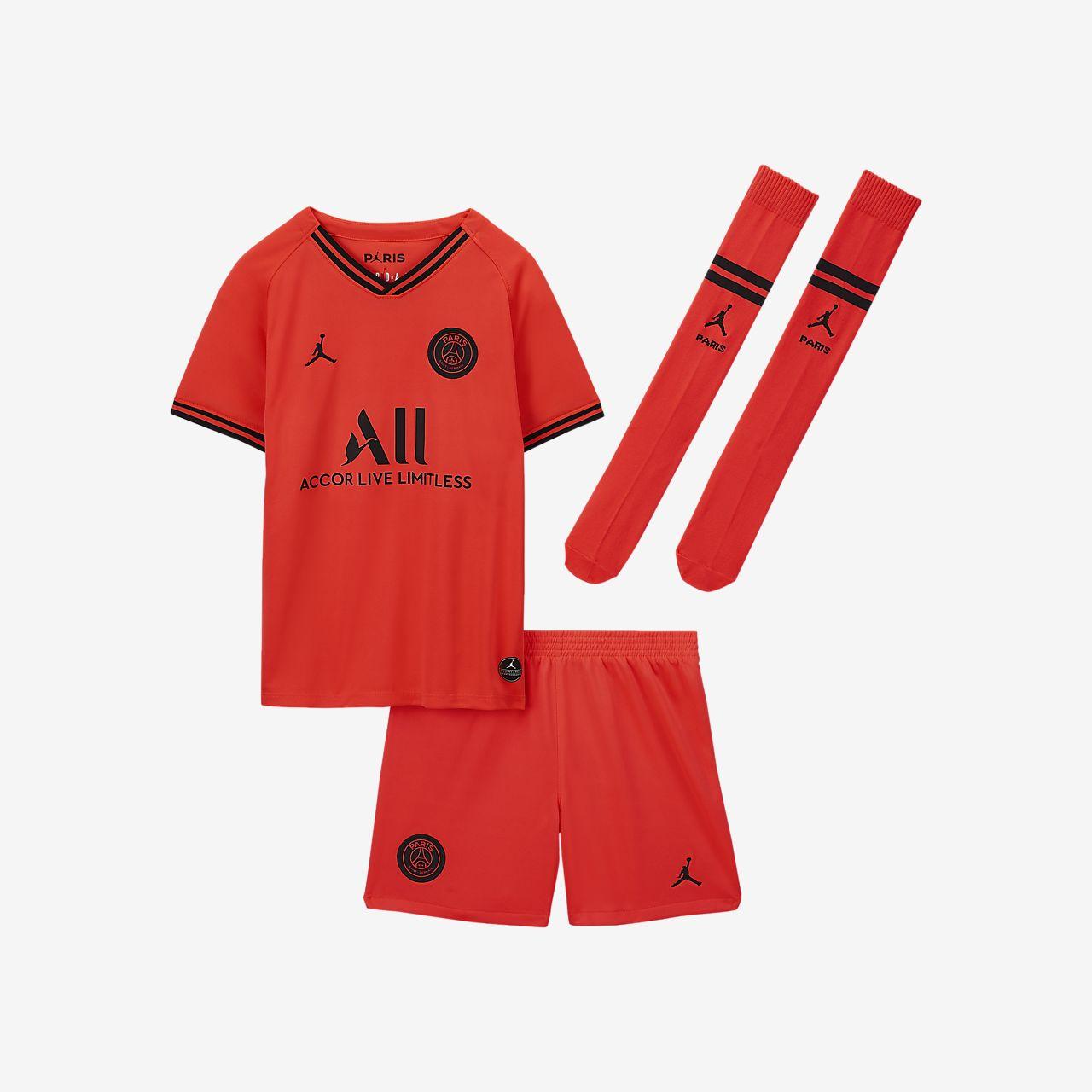 Jordan x Paris Saint-Germain 2019/20 Away Little Kids' Kit