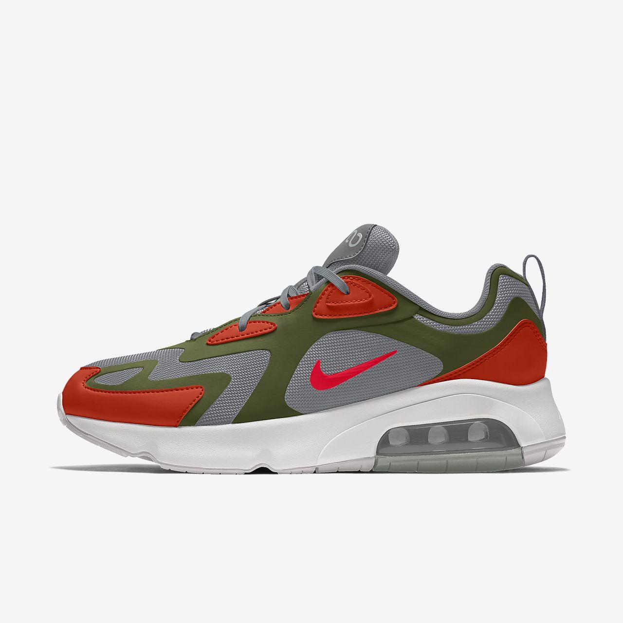 Damskie personalizowane buty Nike Air Max 200 By You
