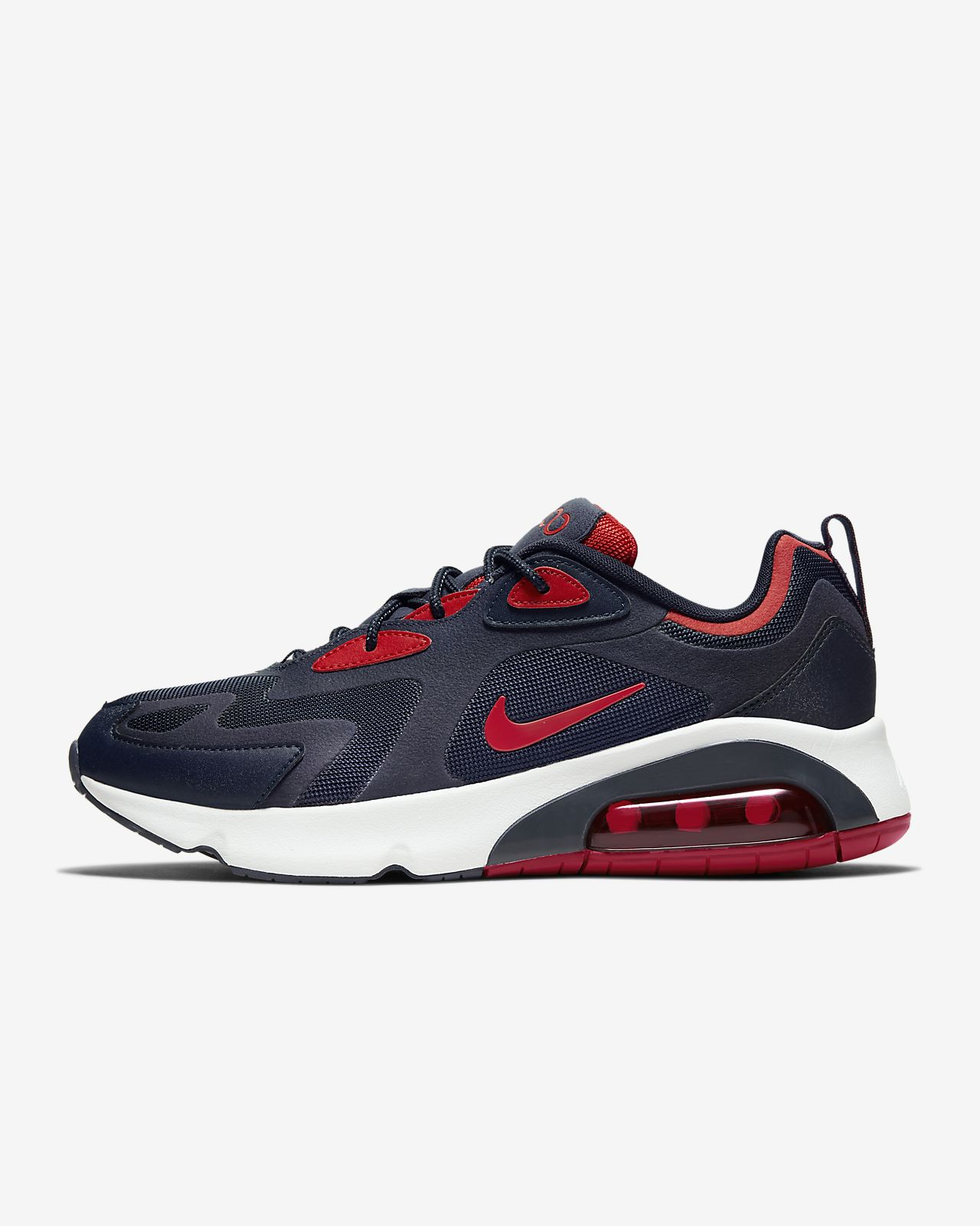 blue and red air max