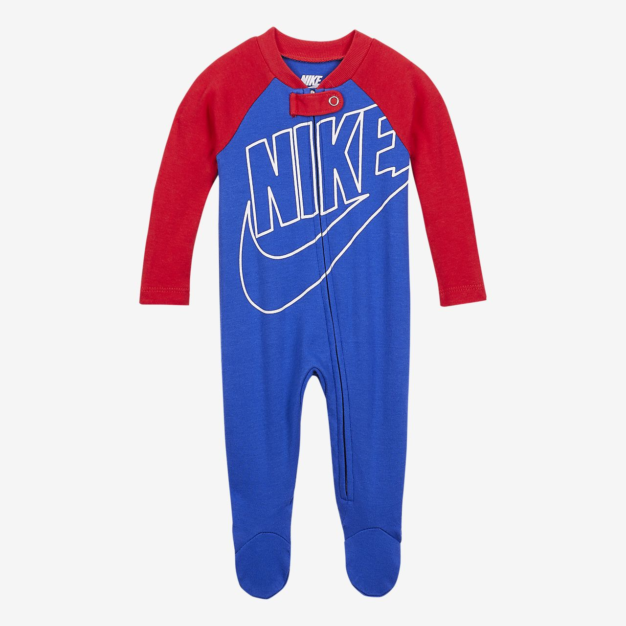 NIKE Childrens Apparel Baby Graphic Footed Coverall