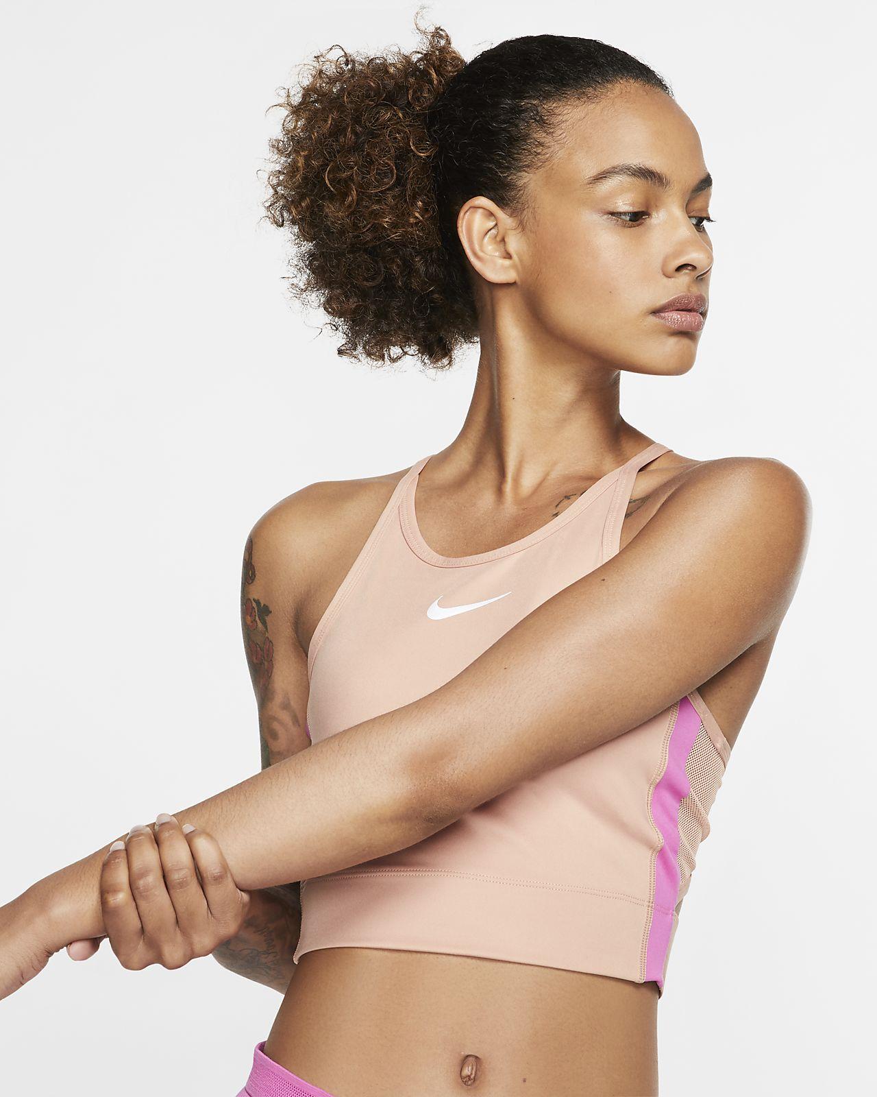 Nike Lauf-Kurz-Tanktop für Damen