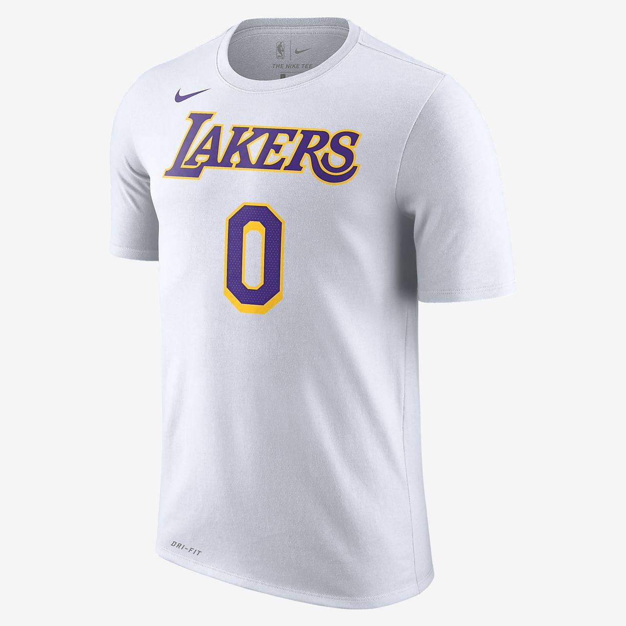 洛杉矶湖人队 (Kyle Kuzma) Nike Dri-FIT NBA 男子T恤