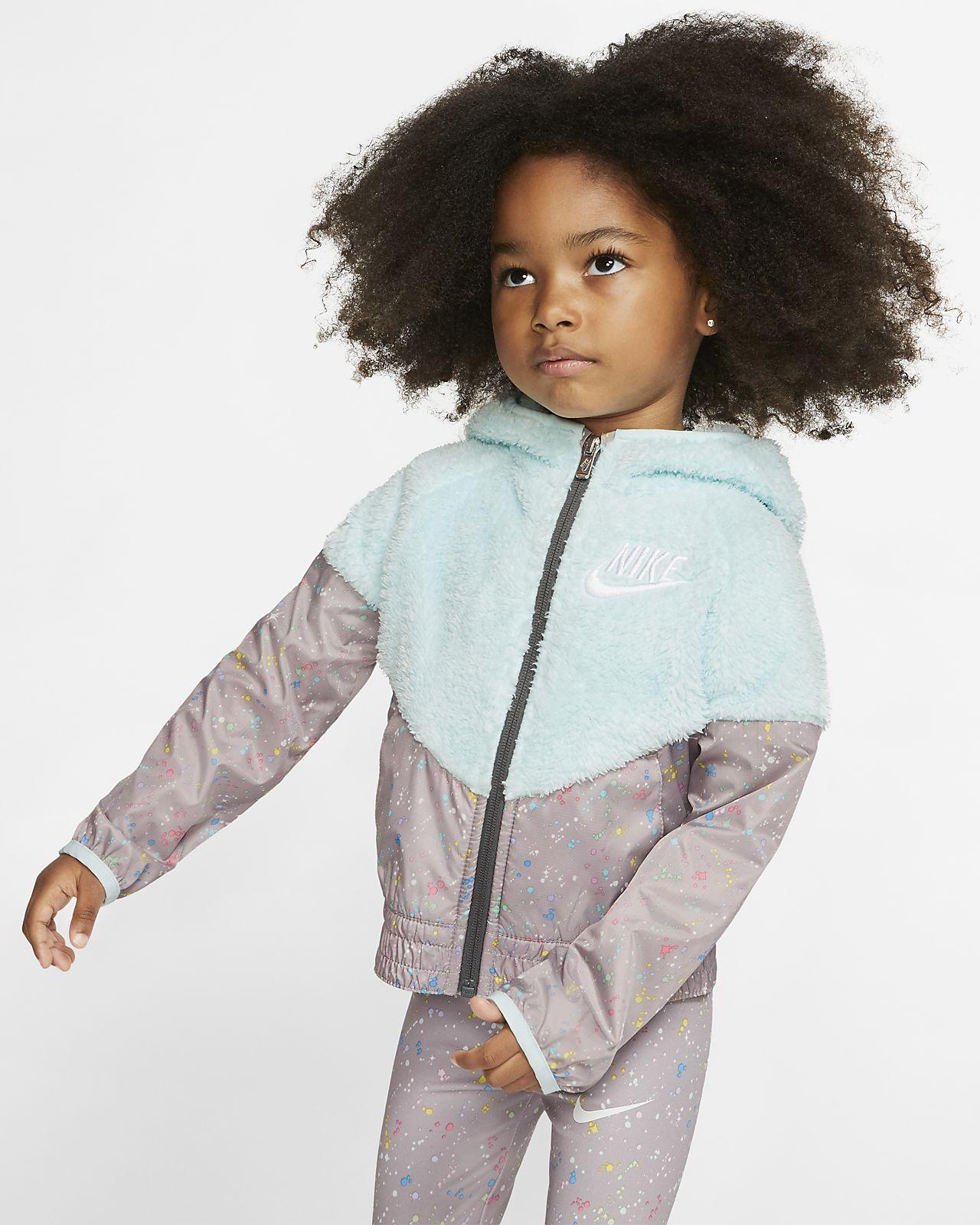 Nike Sportswear Windrunner Toddler Sherpa Jacket