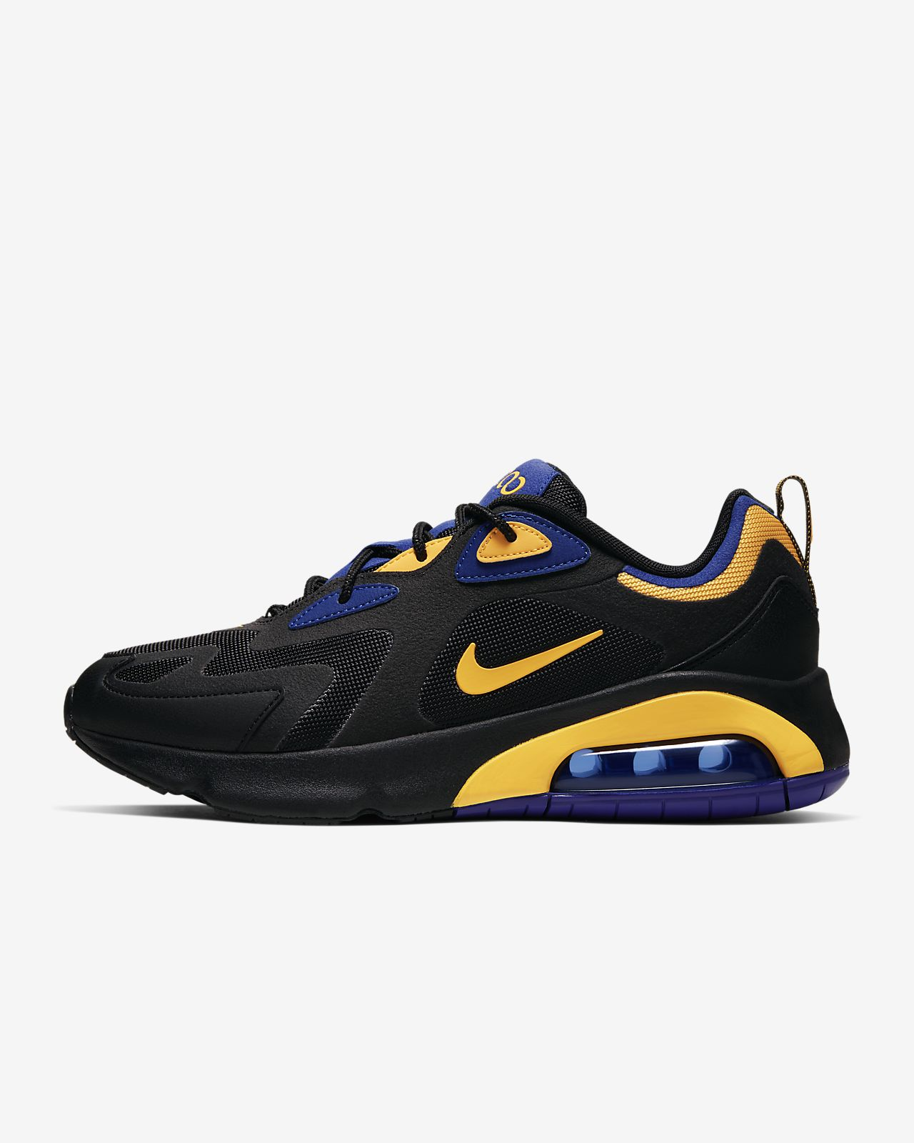 Uomo Nike Air Max 2019 scarpe nero bianco