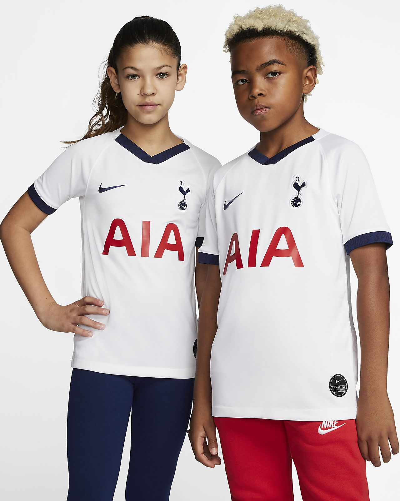 Tottenham Hotspur 2019/20 Stadium Home Older Kids' Football Shirt