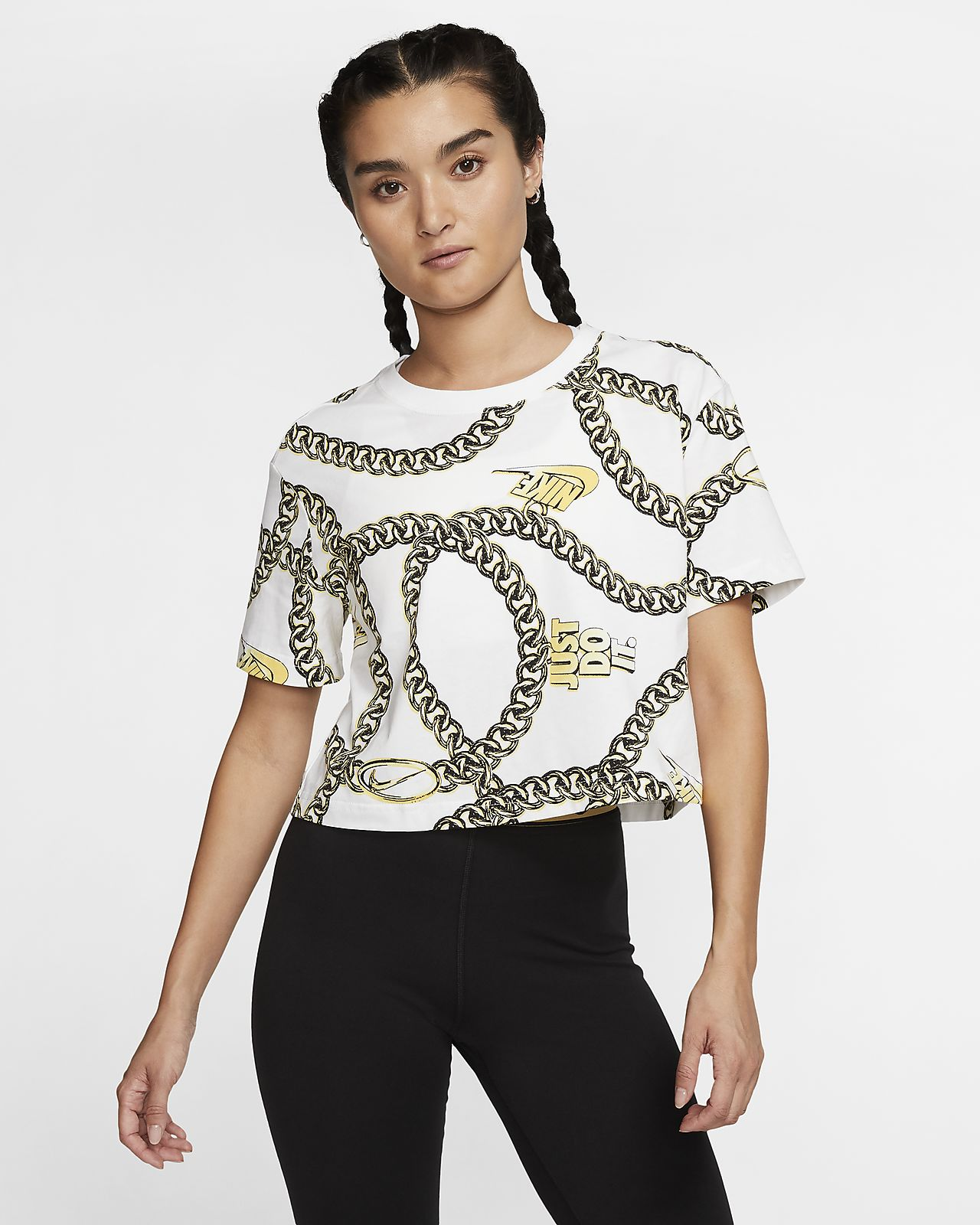 Nike Sportswear Women's Short Sleeve Crop Top