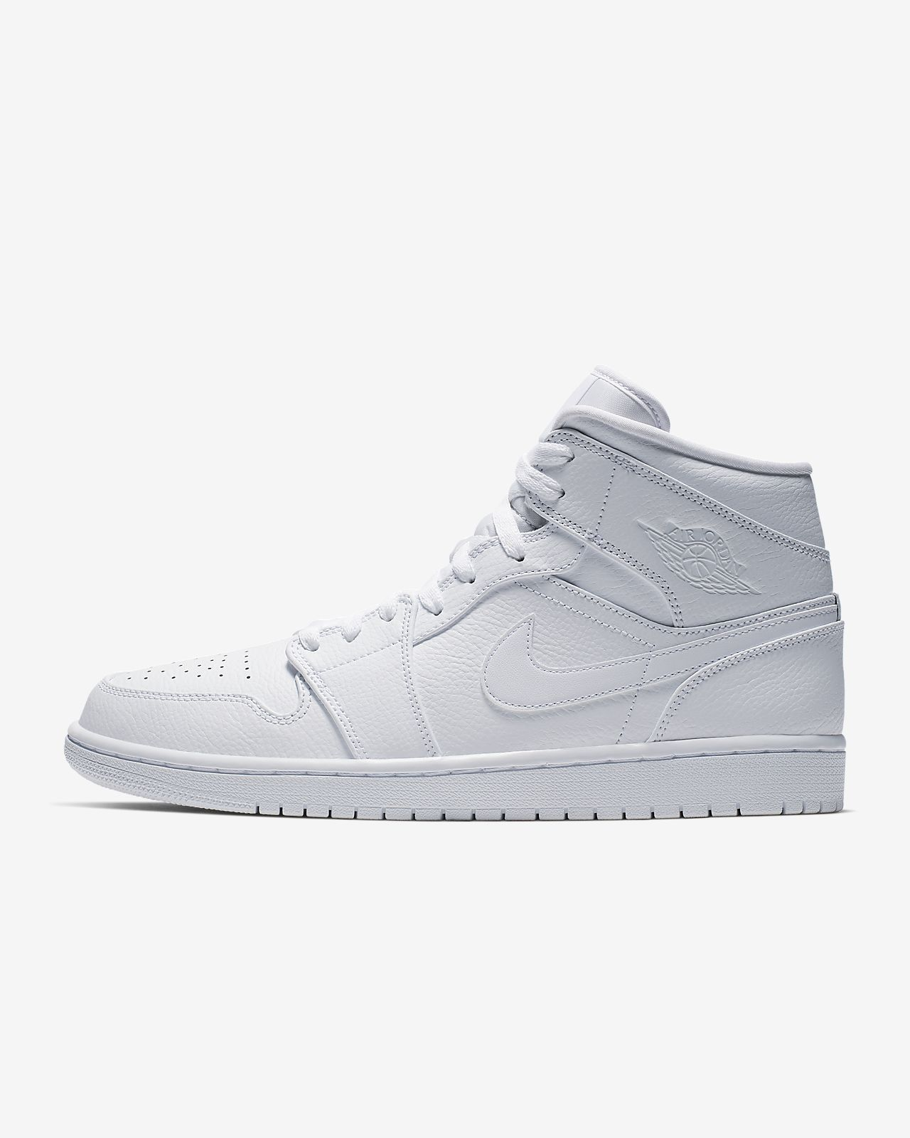 jordan air 1 mid white