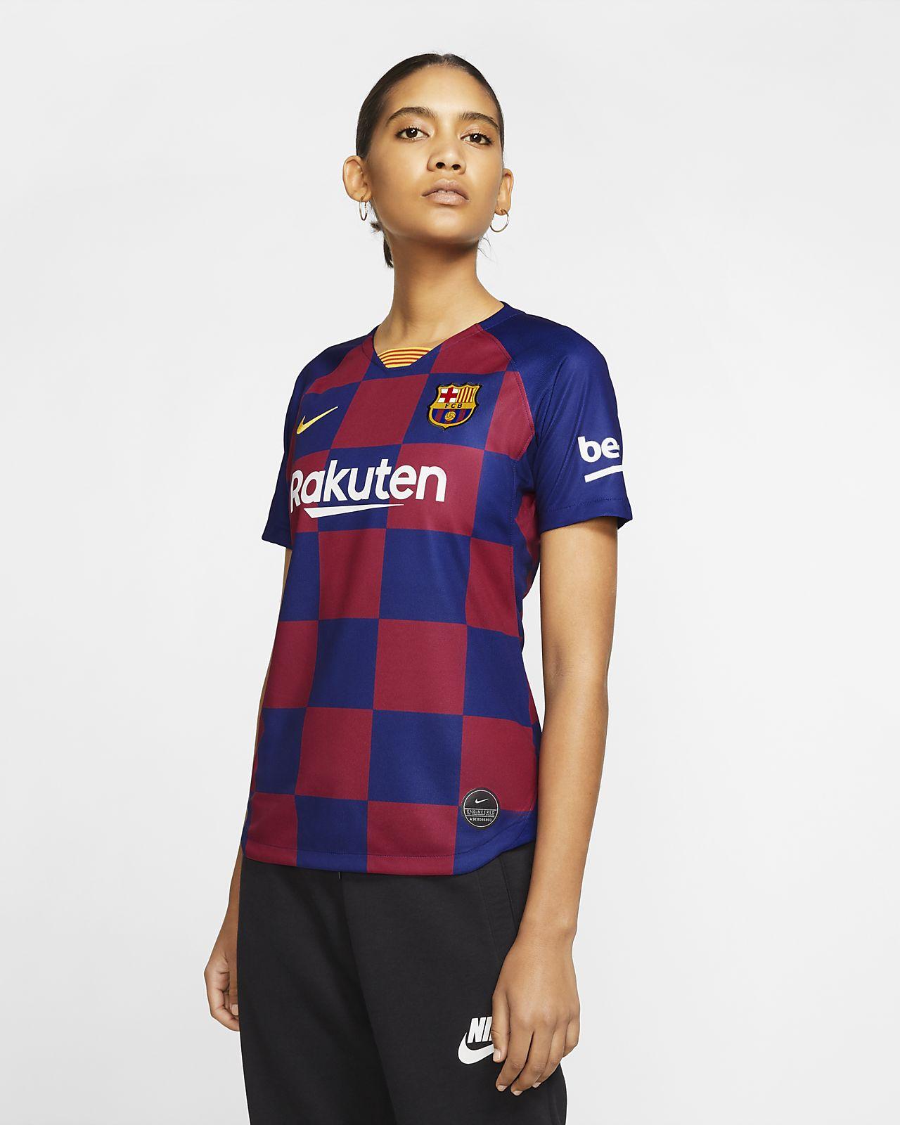 FC Barcelona 2019/20 Stadium Home Women's Soccer Jersey