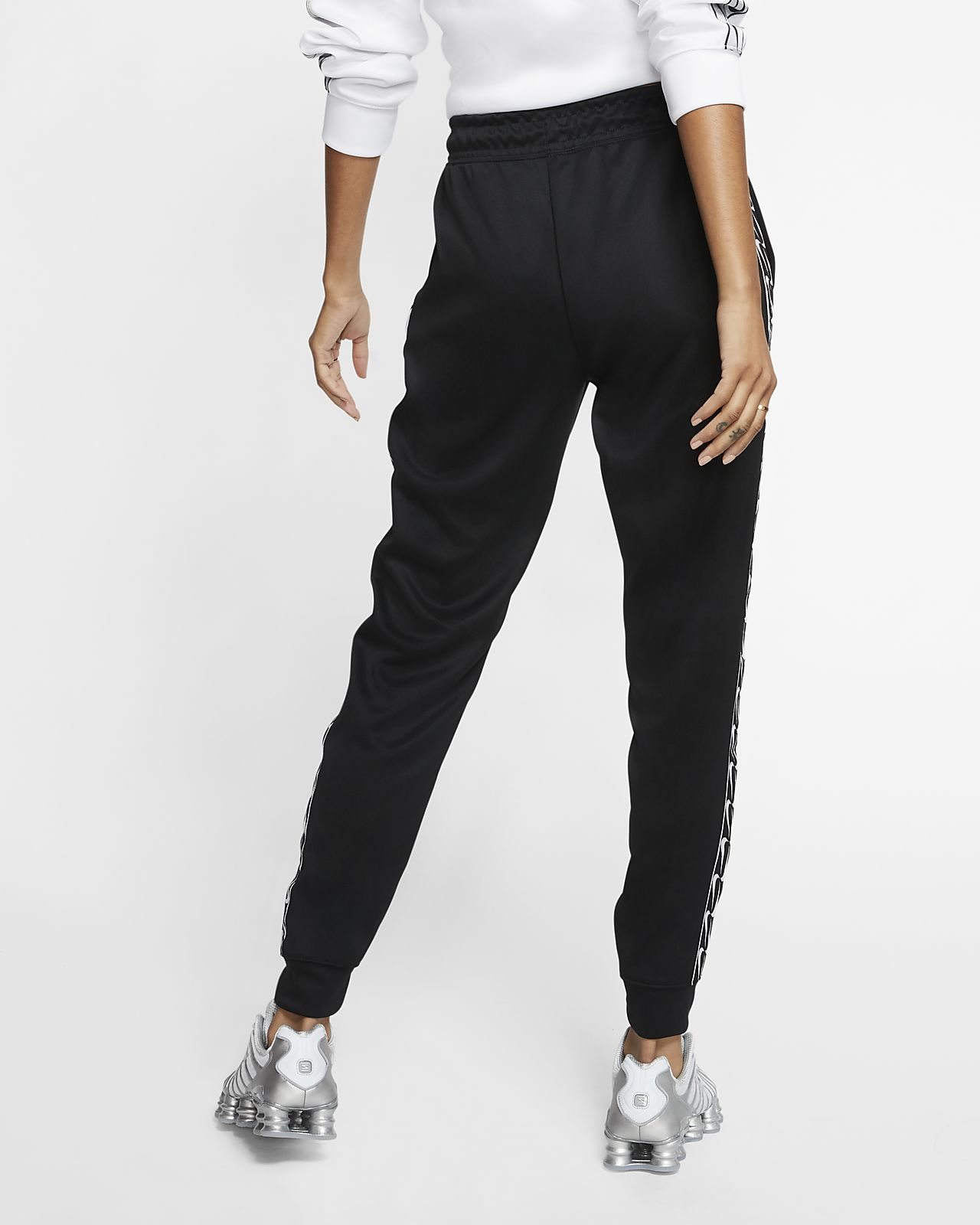 survetement femme nike pantalon blanc