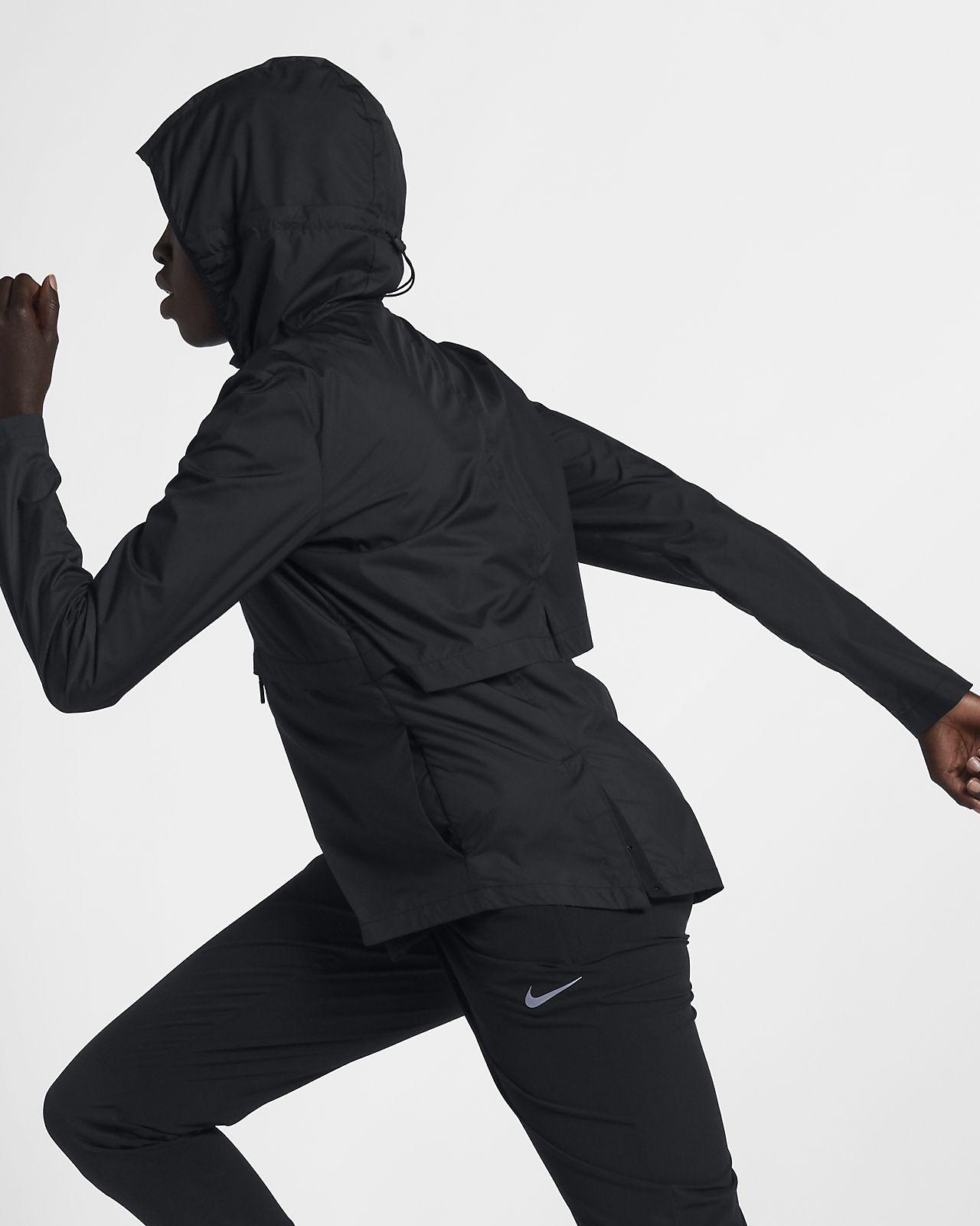 Veste de pluie de running repliable Nike Essential pour Femme