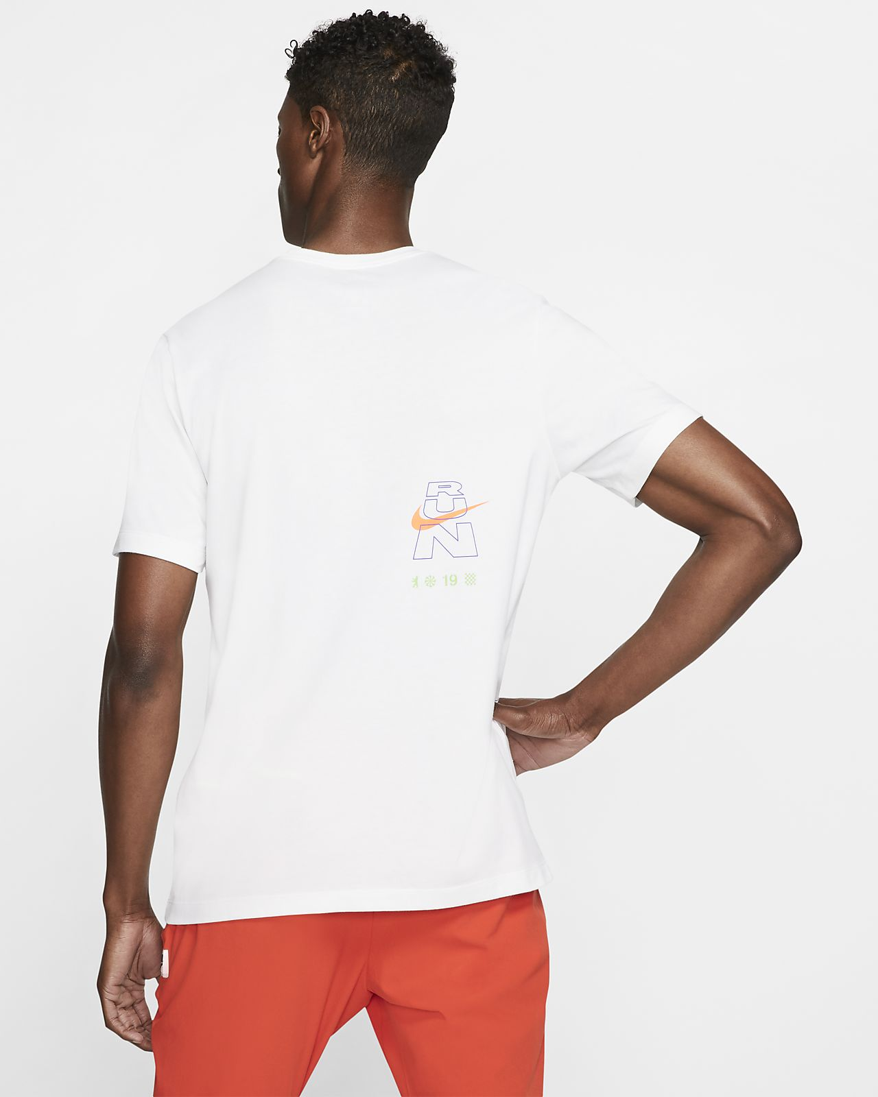 t-shirt running nike