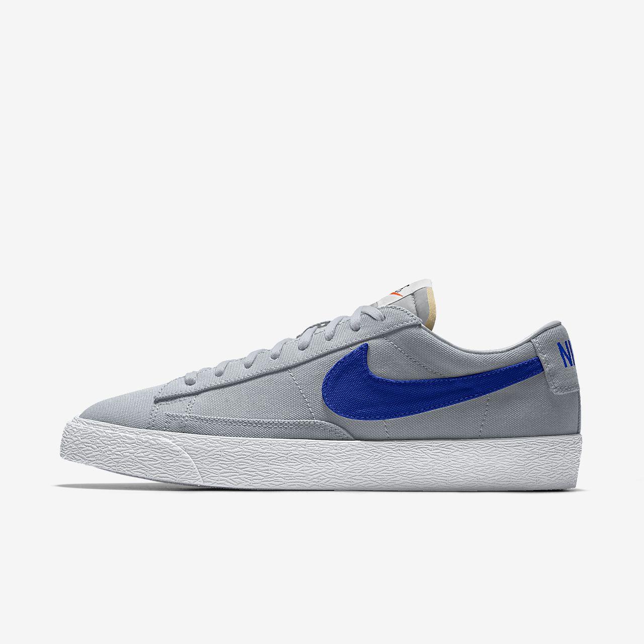 รองเท้าผู้ชายออกแบบเอง Nike Blazer Low By You