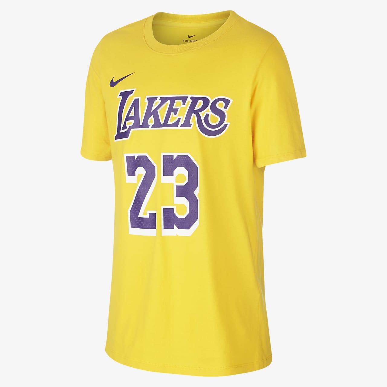 LeBron James Los Angeles Lakers Nike Samarreta de l'NBA - Nen/a