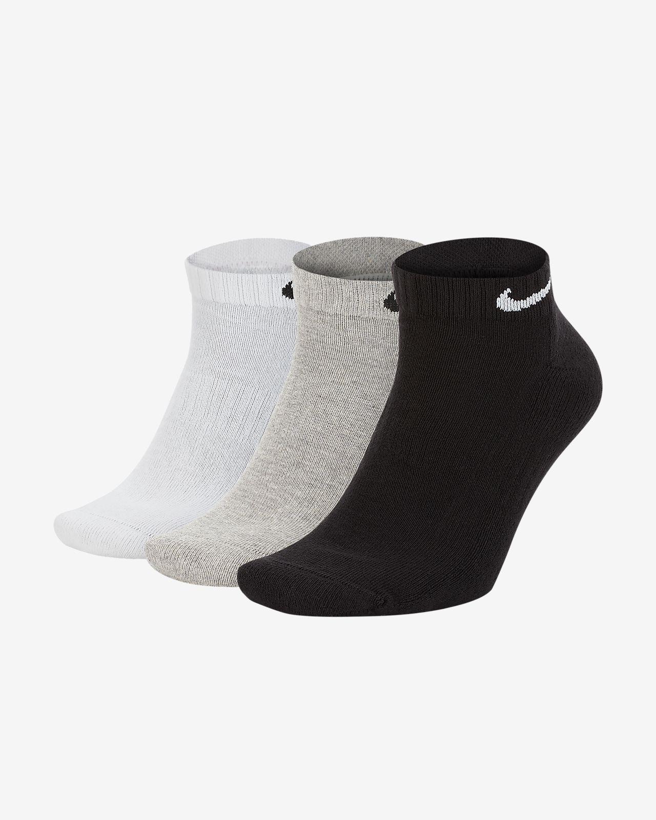 Nike Everyday Cushioned Training Low Socks (3 Pairs)