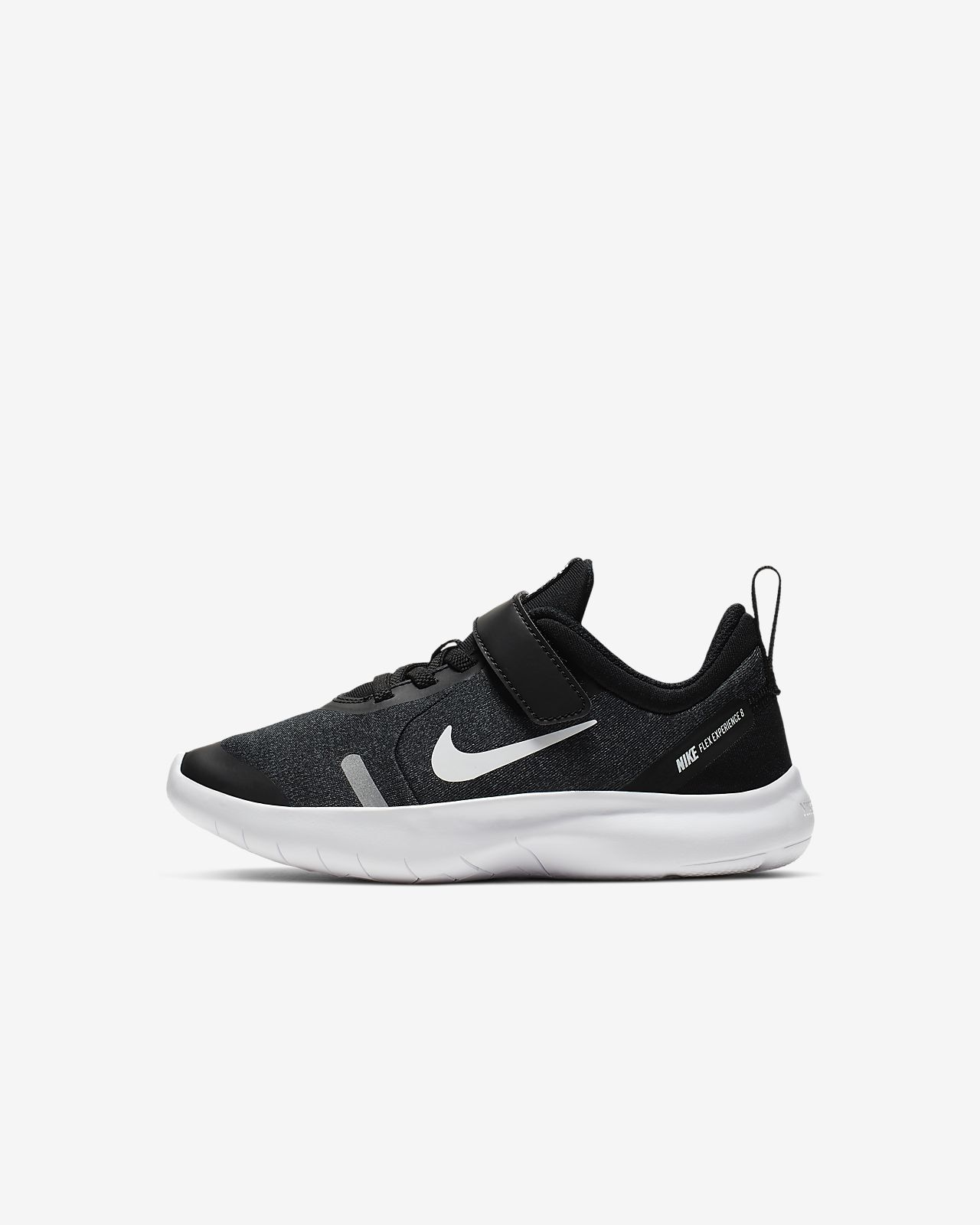 nike children's flex contact 2 trainers black cool grey