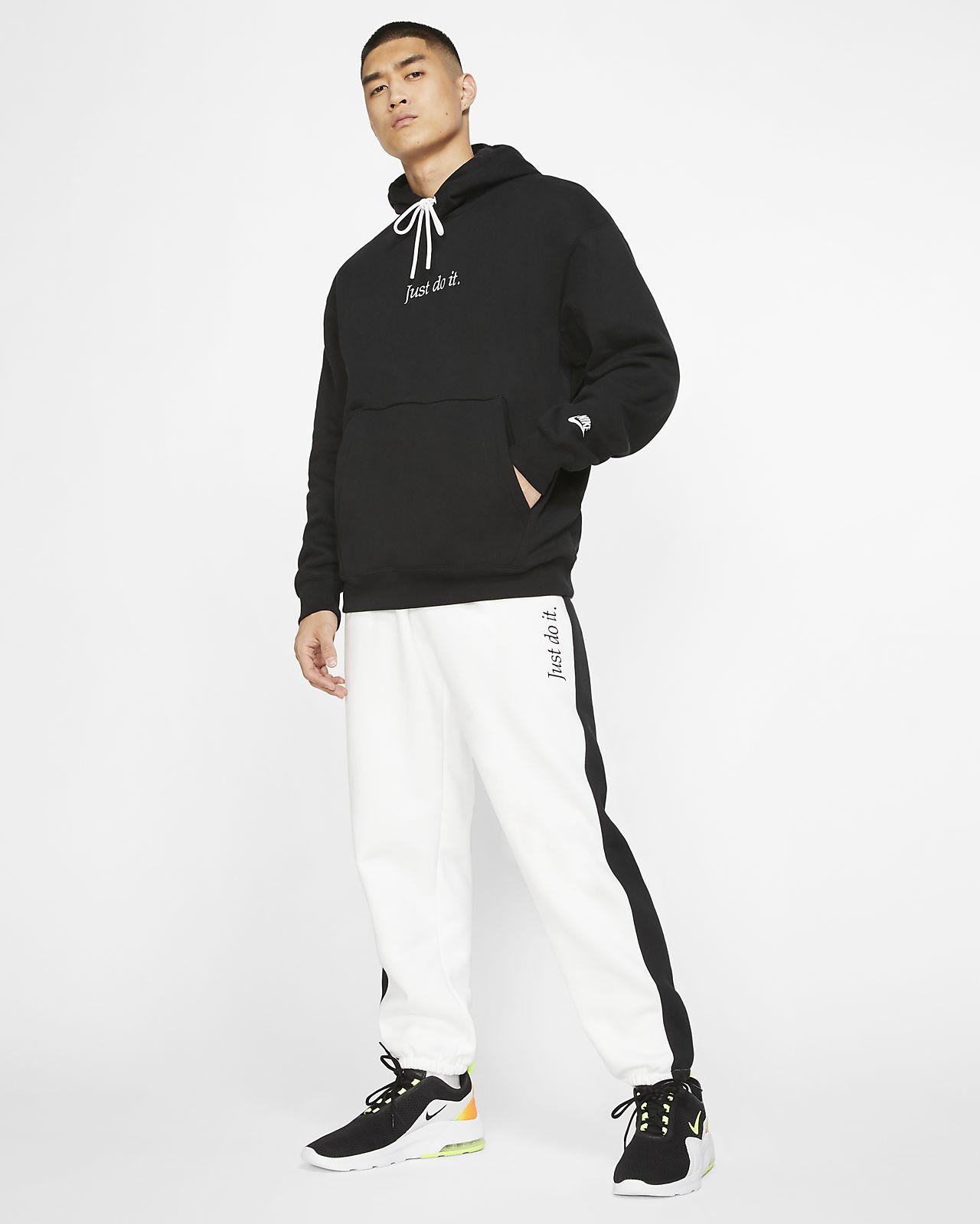 Mens Heavy Weight Fleece Pullover Hoodie