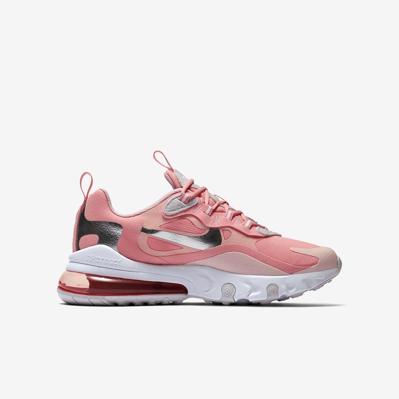 air max 270 react rosas