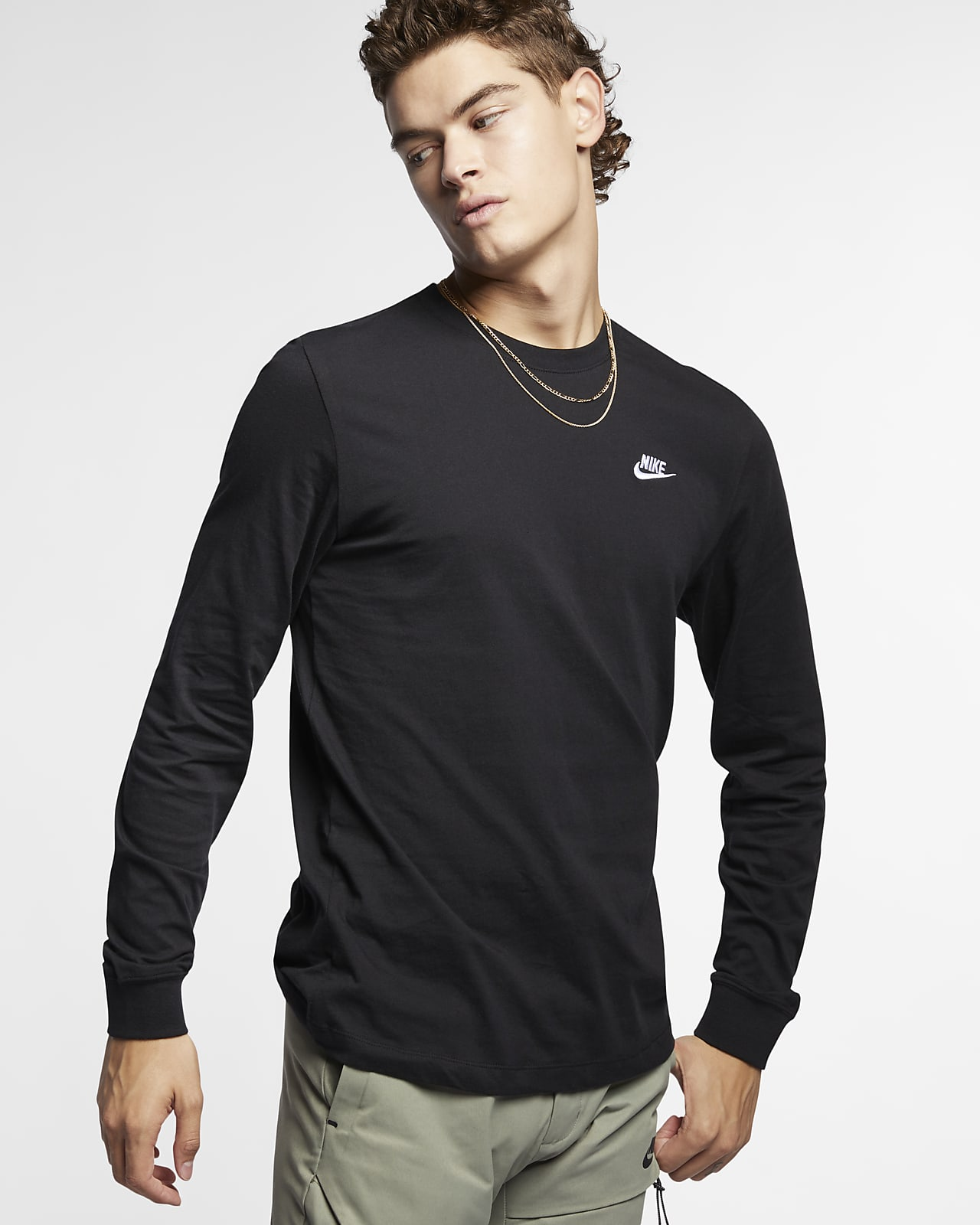Мужская футболка с длинным рукавом Nike Sportswear