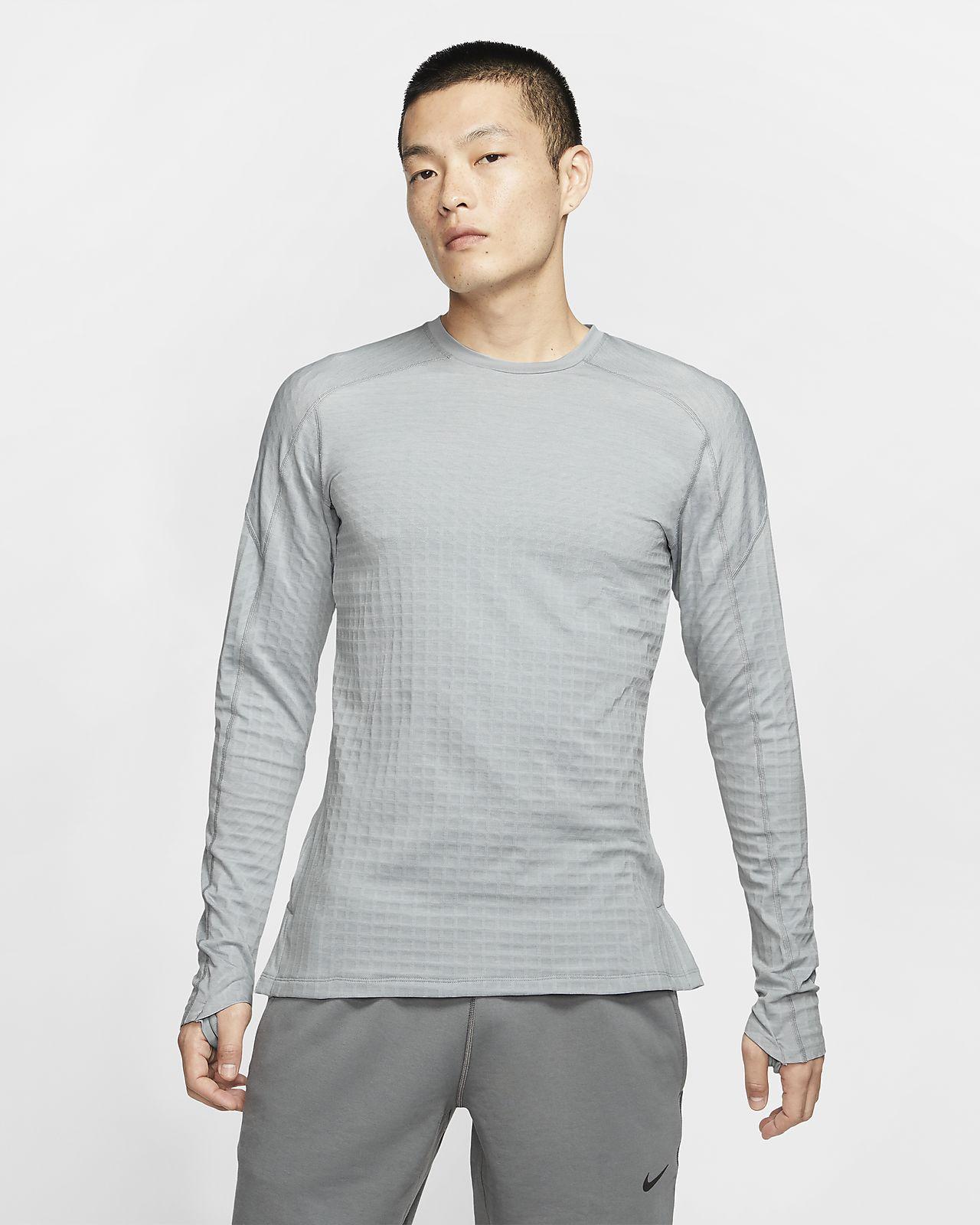 Prenda para la parte superior de manga larga para hombre Nike Pro Tech Pack
