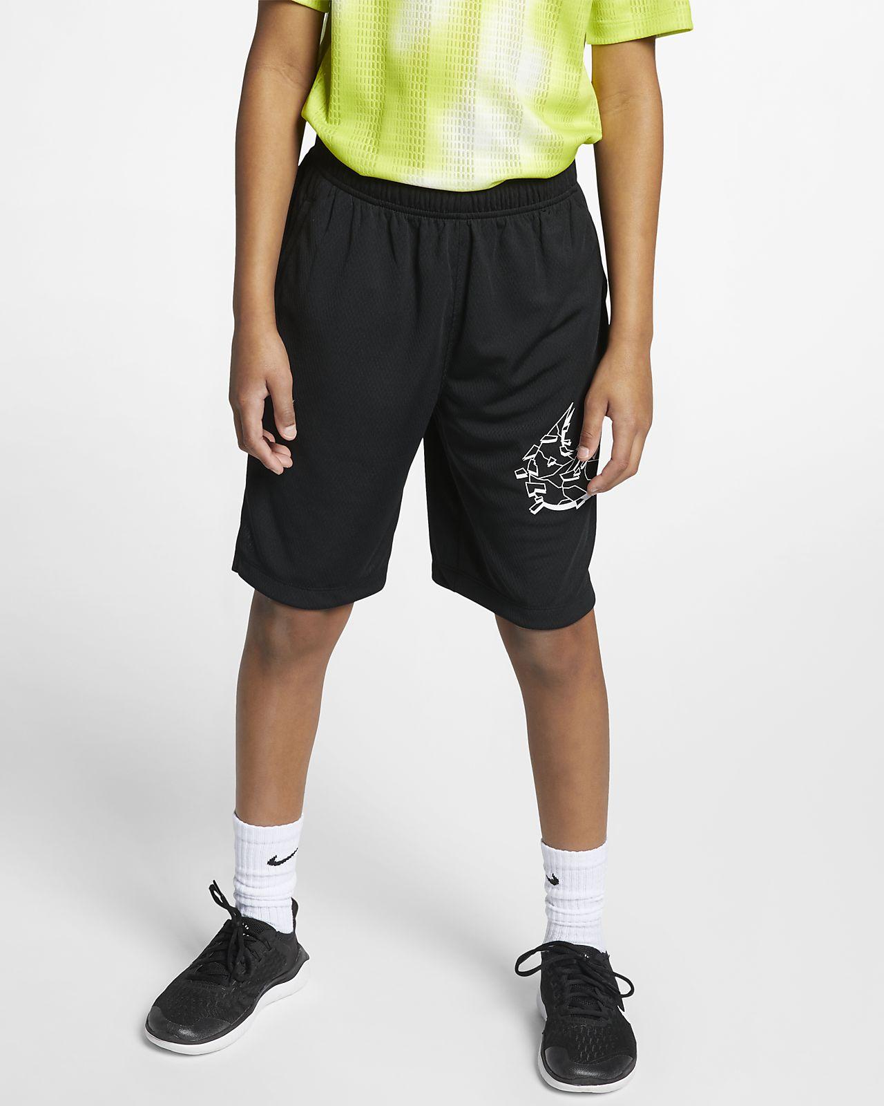 Shorts de entrenamiento con estampado gráfico para niño talla grande Nike Dri-FIT