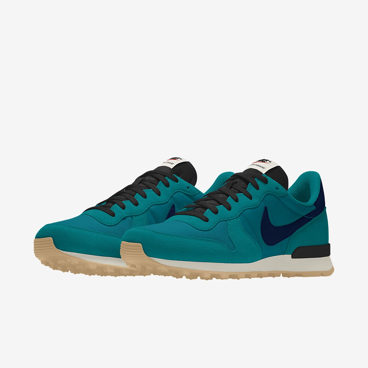 nike internationalist dames blue