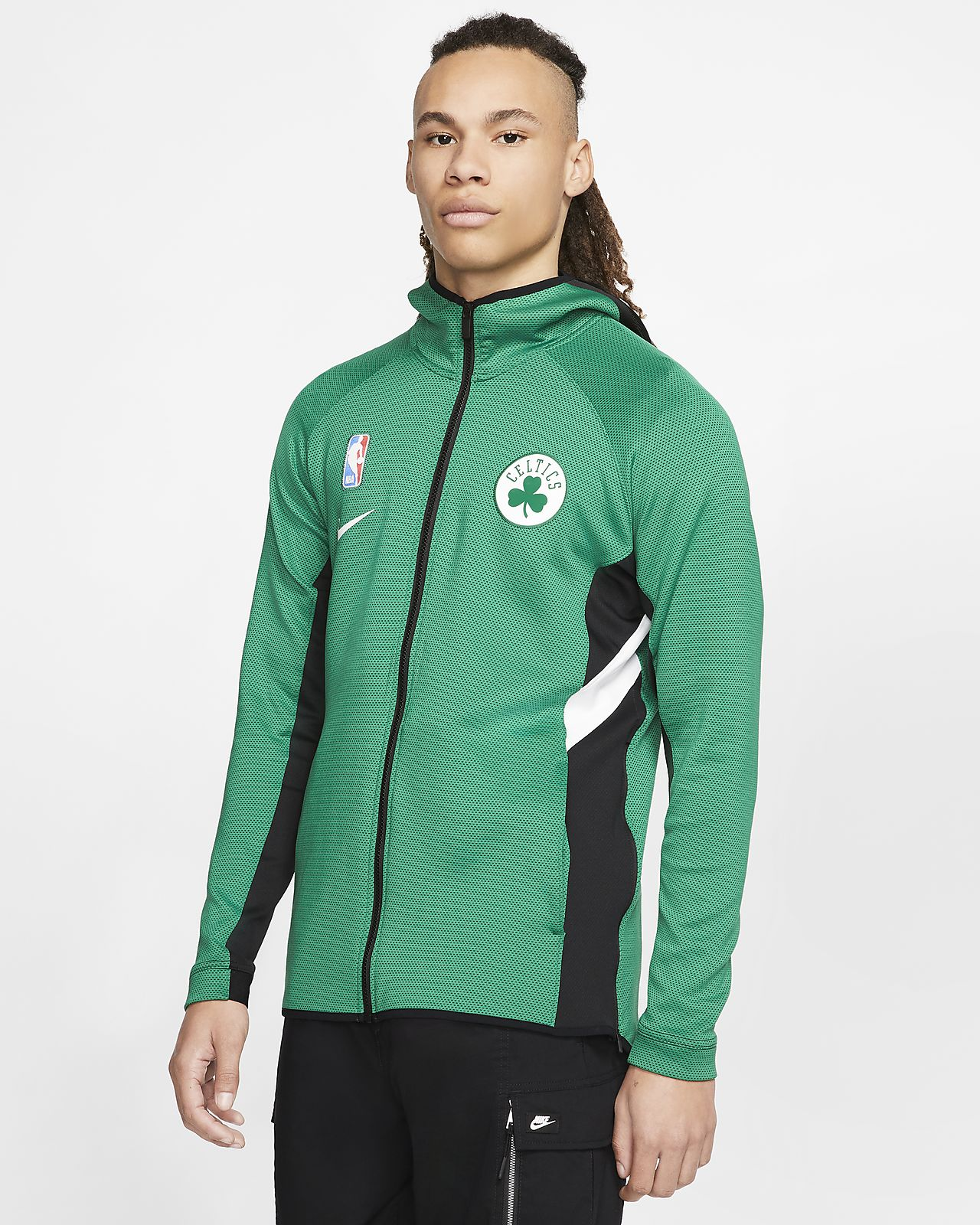 Boston Celtics Nike Therma Flex Showtime NBA hoodie voor heren