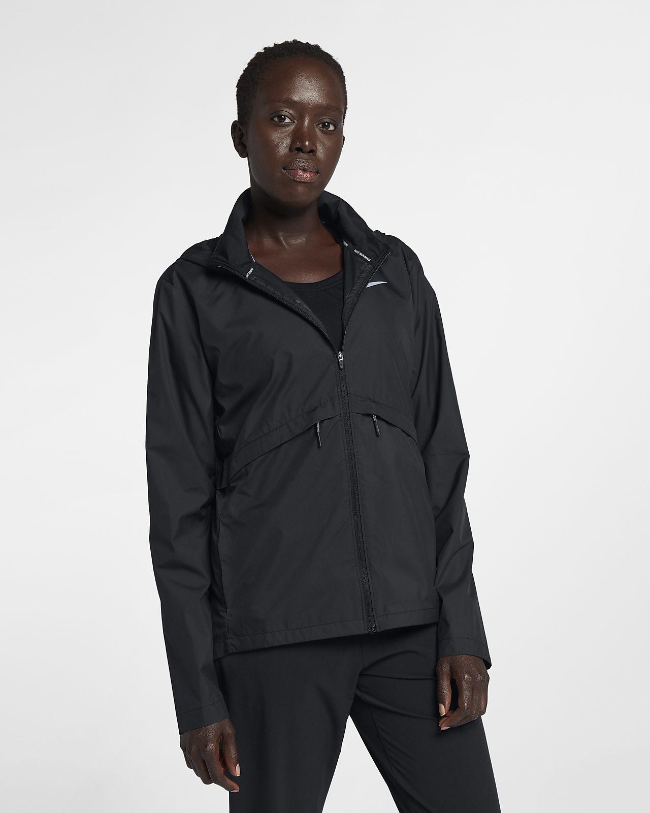 Nike Essential Opvouwbaar hardloopregenjack voor dames