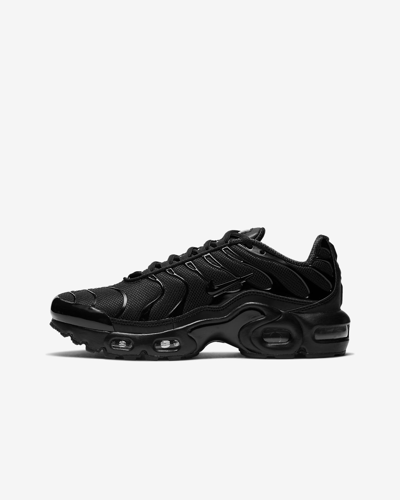 nike air max plus mäns vit