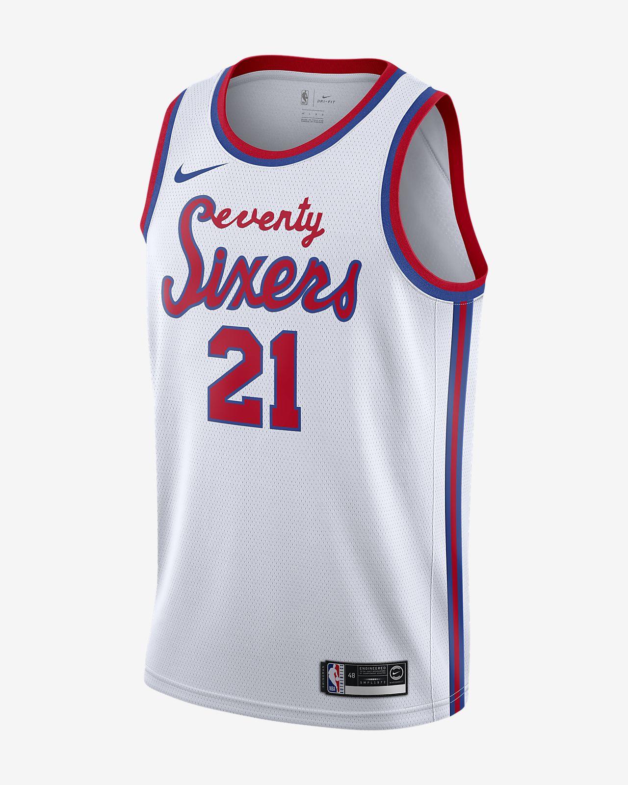 Joel Embiid 76ers Classic Edition Nike NBA Swingman Jersey