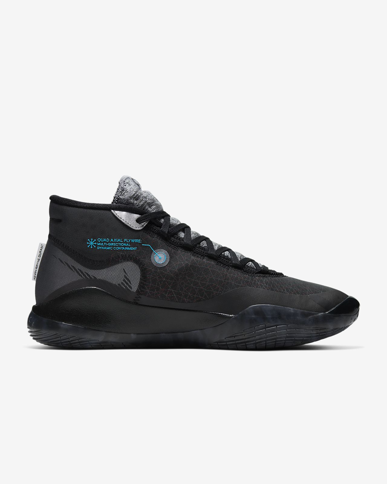 Men Nike Zoom KD 12 Kevin Durant Basketball Shoes Black Limited ...