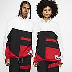 Black/White/University Red/White