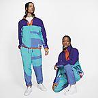 Turquoise nébuleux/Violet régence/Bleu montagne/Orange équipe