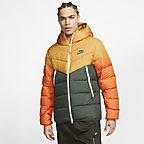 Nike Sportswear Windrunner Down Fill Men's Hooded Jacket bicoastalobsidianobsidiansail 928833 362