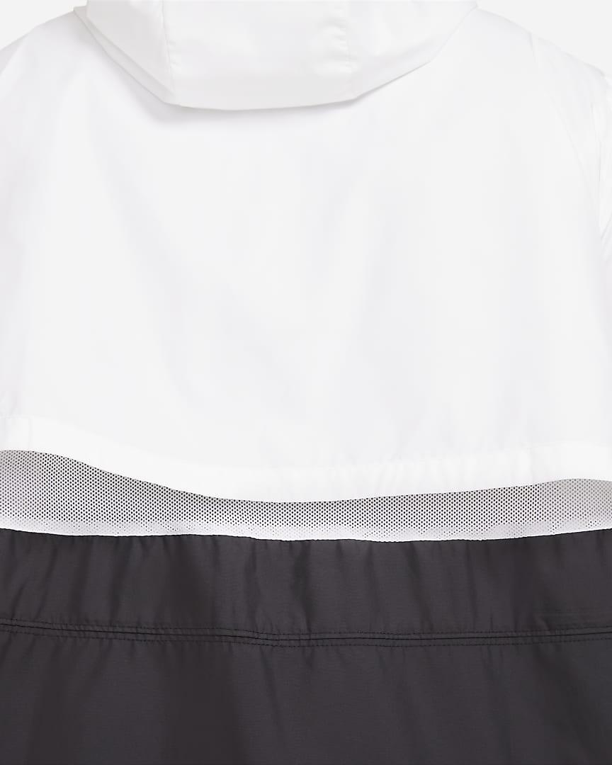 Nike Sportswear Women\'s Woven Jacket (Plus Size) White/White/White/Black