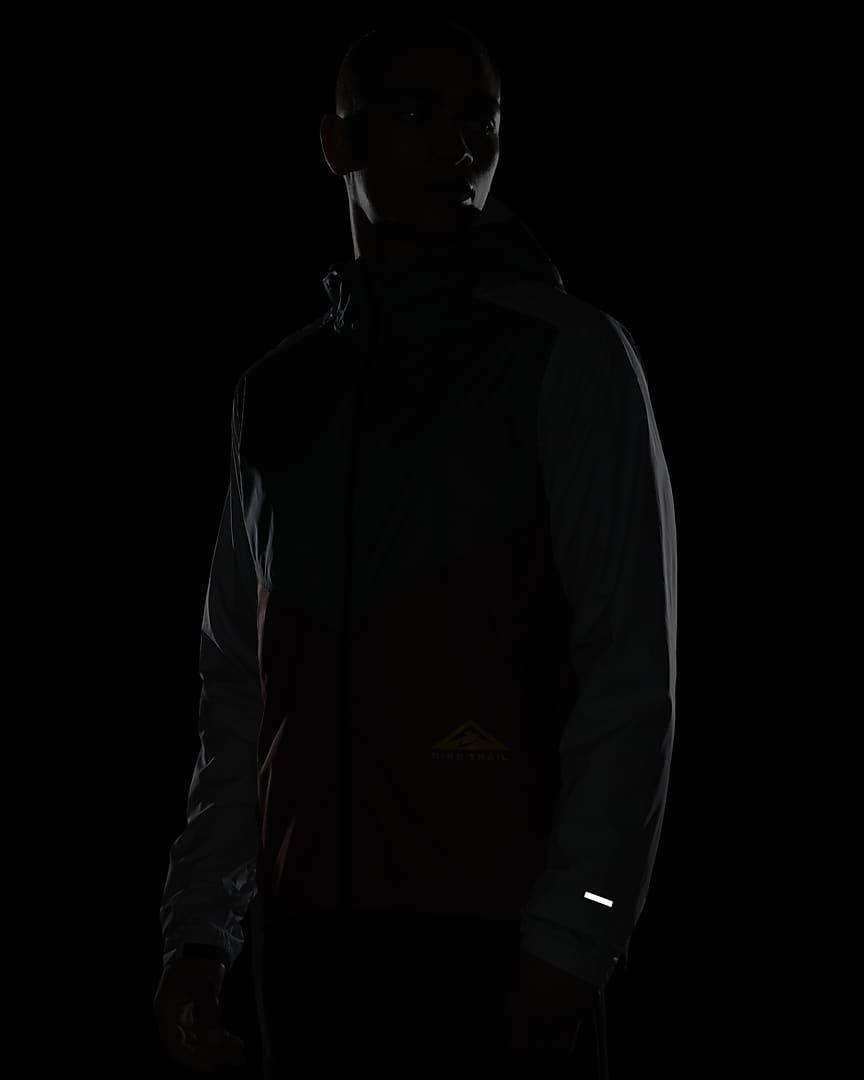 Nike Windrunner Men\'s Trail Running Jacket Hasta/Dark Cayenne/Pure Platinum/Solar Flare
