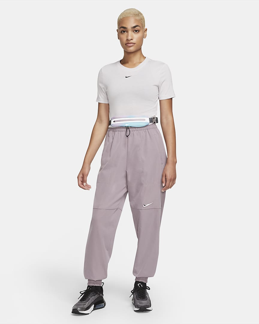Nike Printed Slim Waist Pack Regal Pink/Smoke Grey/Silver