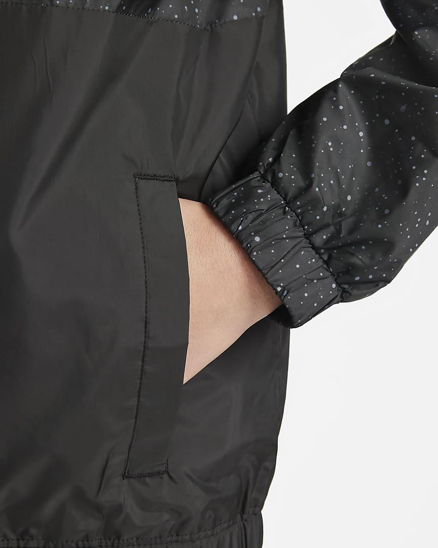 Jordan Big Kids\' (Boys\') Full-Zip Jacket Black