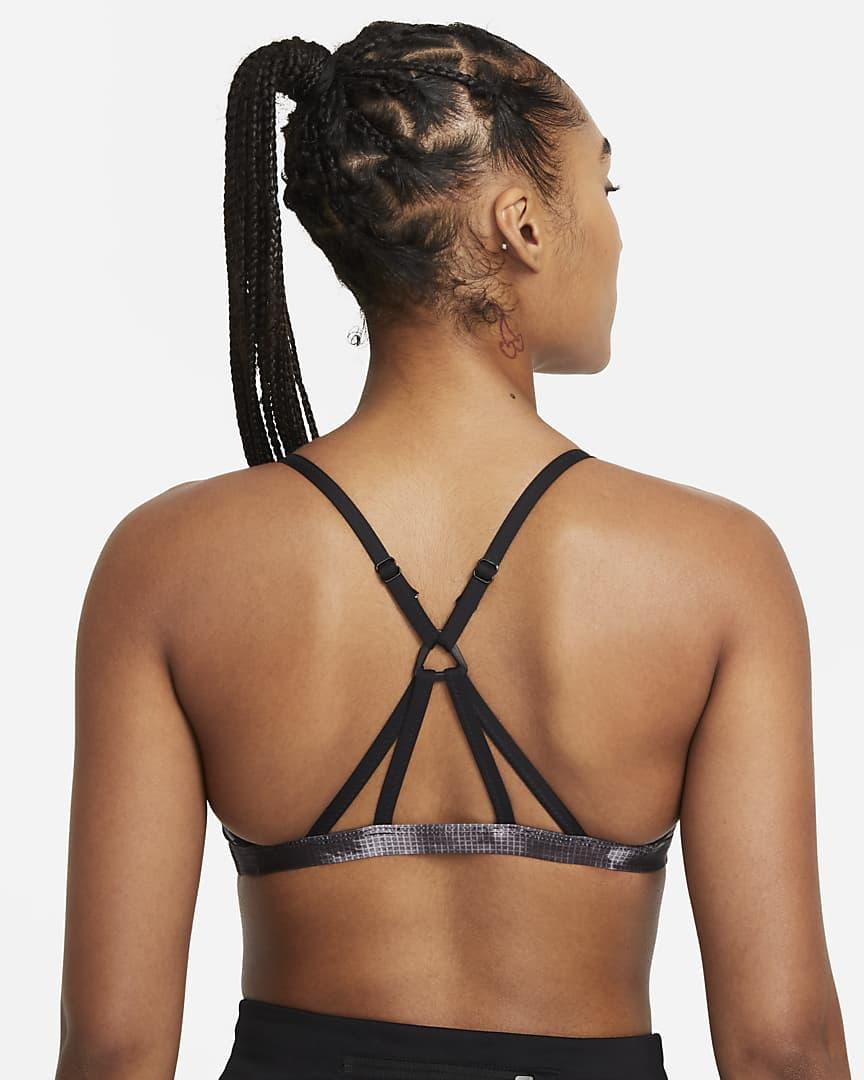 Nike Women\'s Crossback Bikini Top Black