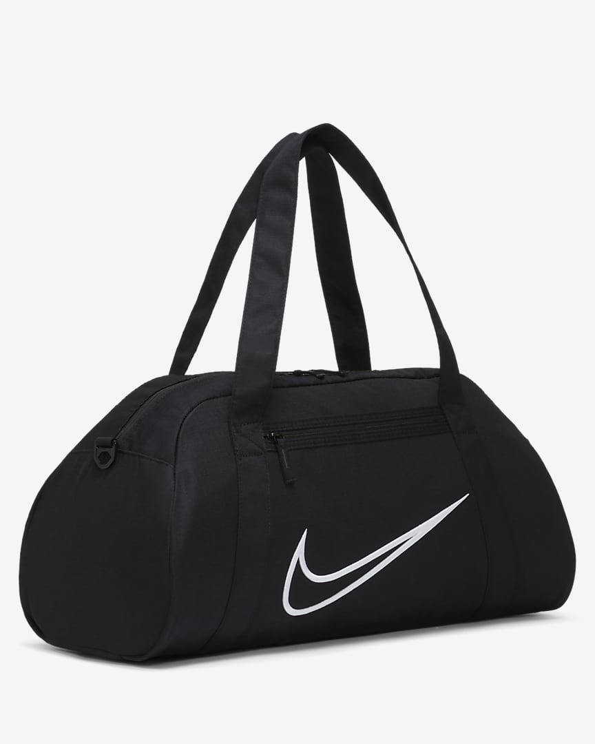 Nike Gym Club Women\'s Training Duffel Bag Black/Black/White