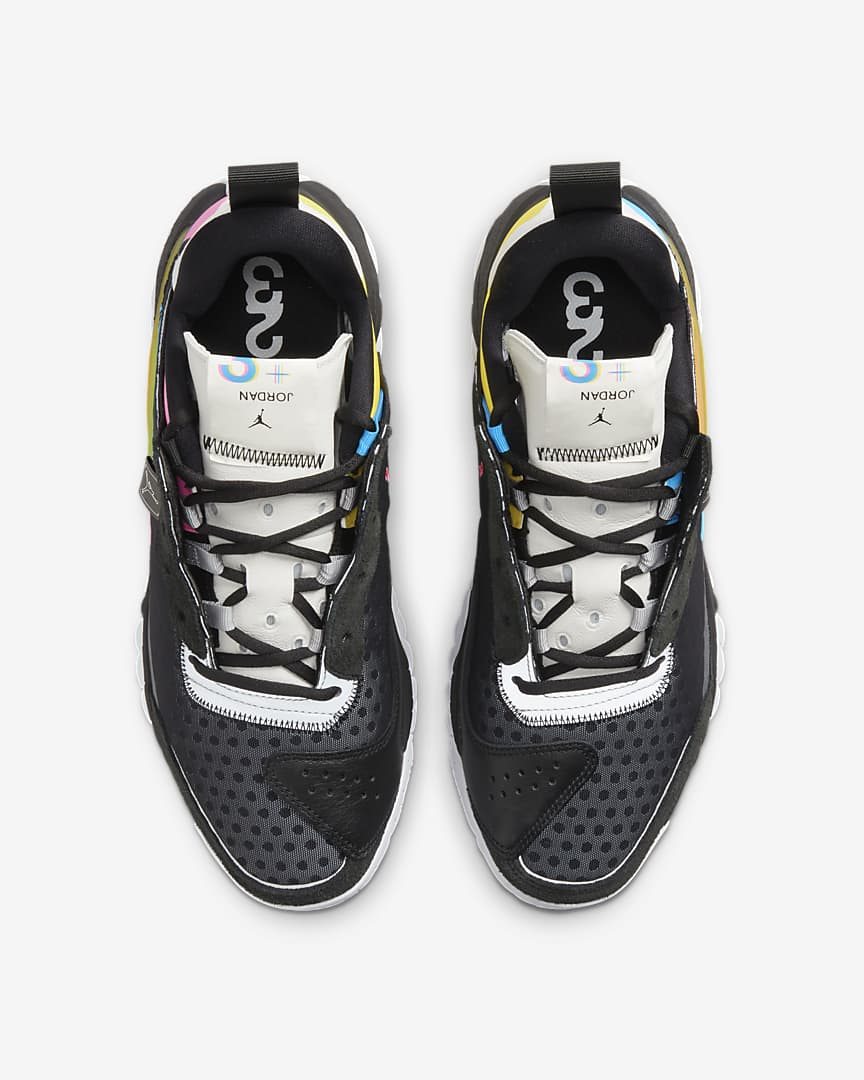 Jordan Delta 2 SP Shoes Black/Blue Hero/Pink Blast/White