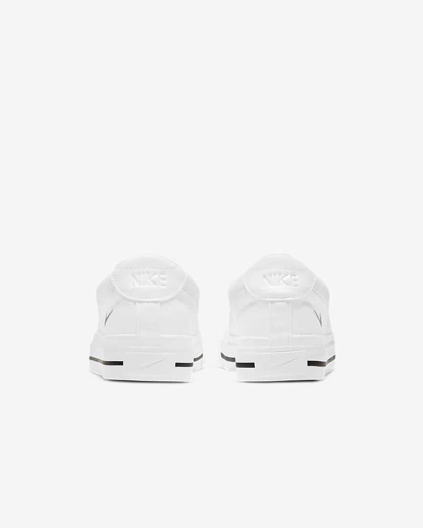 Nike Court Legacy Women\'s Slip-On White/Black