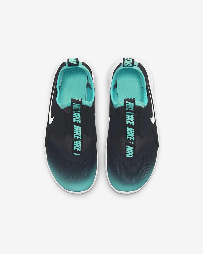 Nike Flex Runner Little Kids\' Shoes Dark Smoke Grey/Copa/White