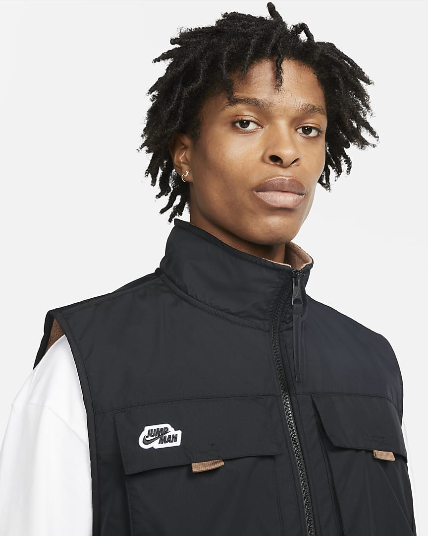 Jordan Jumpman Men\'s Vest Archaeo Brown/Black