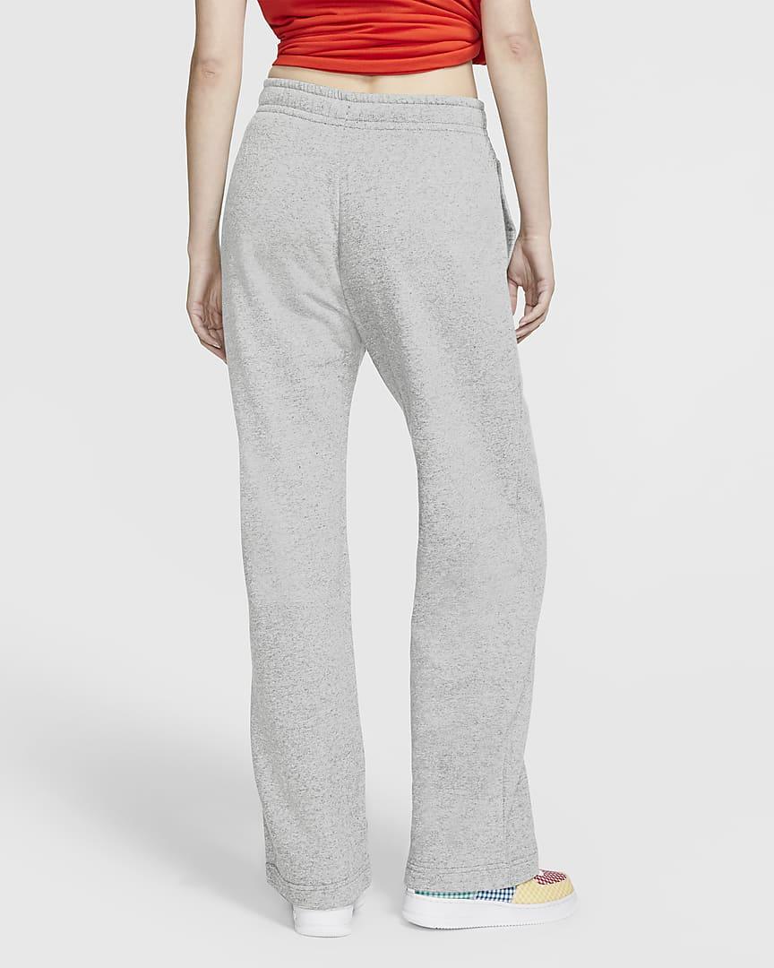 Nike Sportswear Club Fleece Women\'s Pants Dark Grey Heather/Matte Silver/White